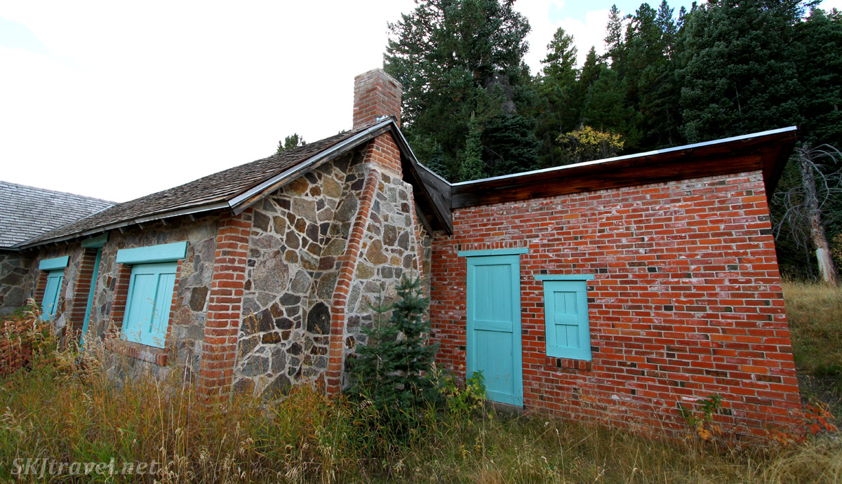 Caretaker's home at the Blue Bird mine complex. Caribou Ranch Open Space, Nederland, Colorado.
