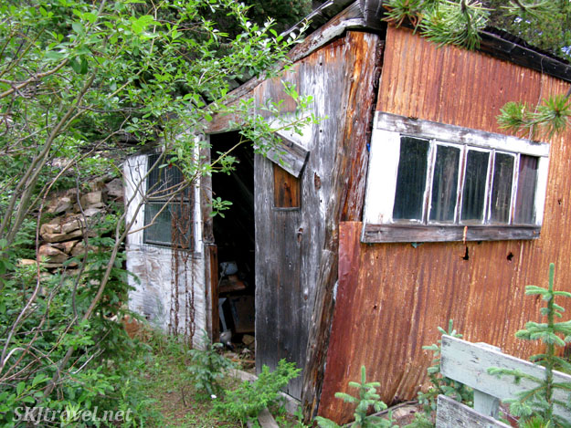 Abandoned mining cabin, Gamble Gulch, Rollinsville, Colorado