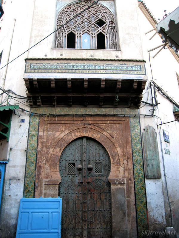 Mish mash of decaying and beautiful doors and windows in Tunis.