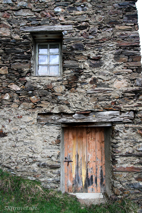 Abandoned stone farm house along the road in Andorra. (perhaps my favorite photo from the trip)
