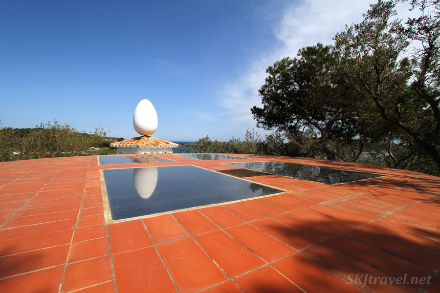 I think of this as the egg of glory ... haha. Dali's home in Portlligat, Spain.