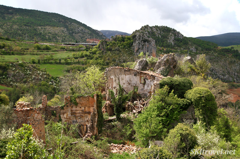 Ruins of Castellar de Tost, Spain.