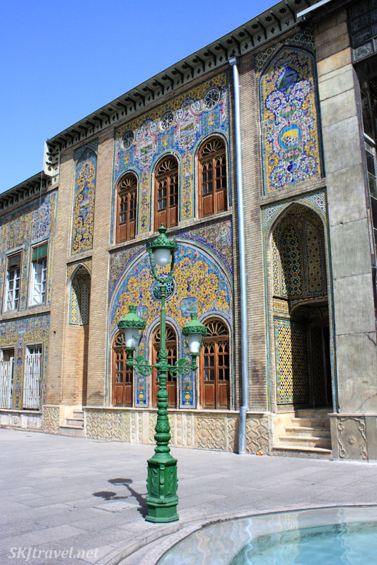 Golestan Palace. Tehran, Iran.