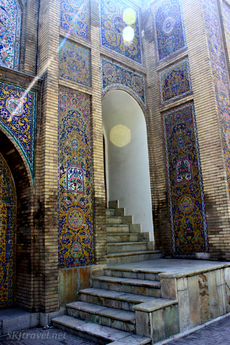 Typical Iranian architecture in Tehran.