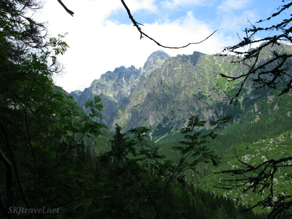 Mountain peaks in the High Tatras, Slovakia.