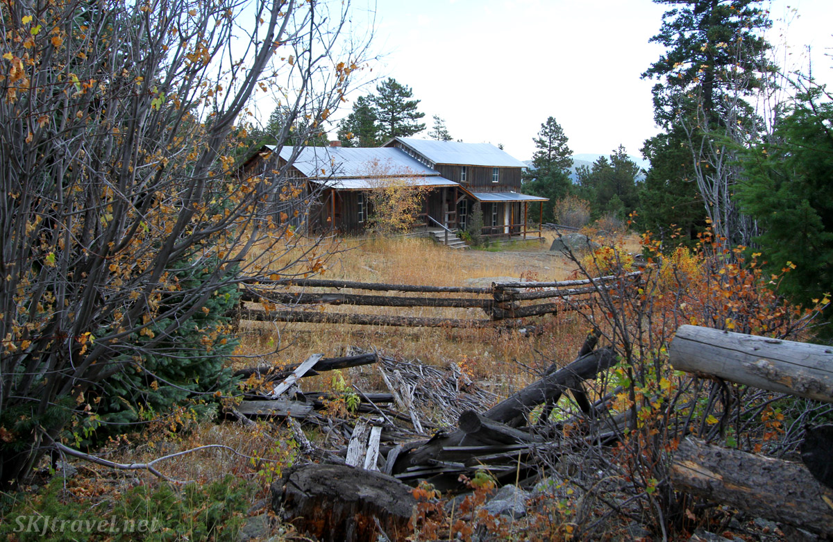 Bunk house / boarding house at the Blue Bird mine. Caribou Ranch Open Space, Nederland, Colorado.