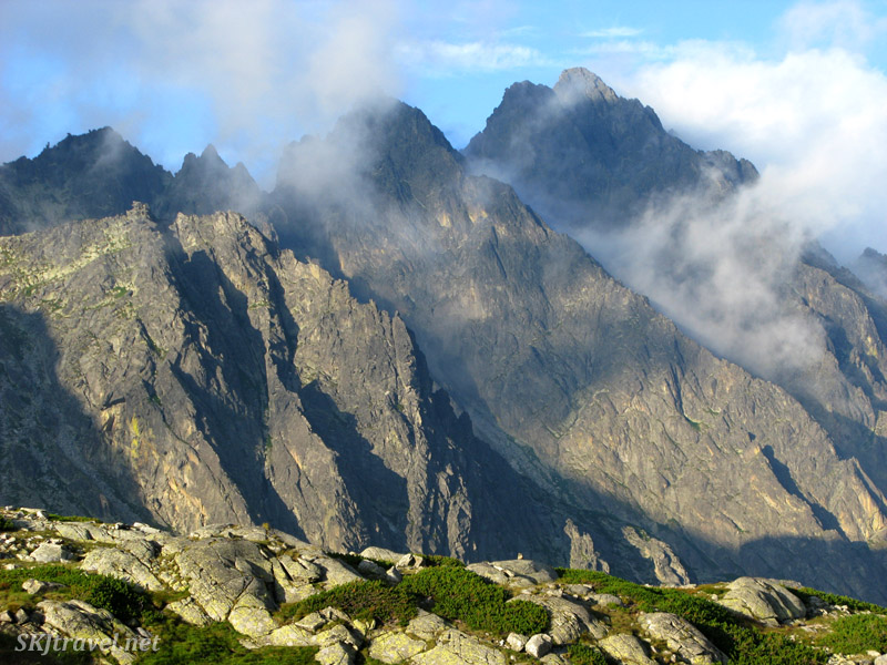 At Zbojnicka chata in the High Tatras mountains, Slovakia.
