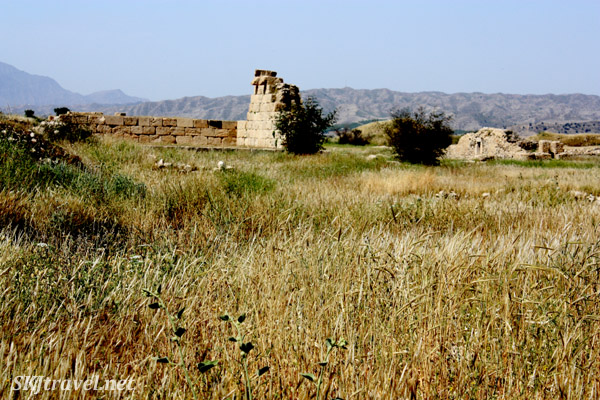 Ruins of the ancient city of Bishapour. Iran.