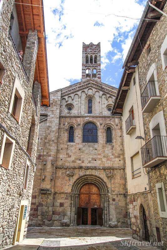 Church of La Seu d'Urgell, Spain.