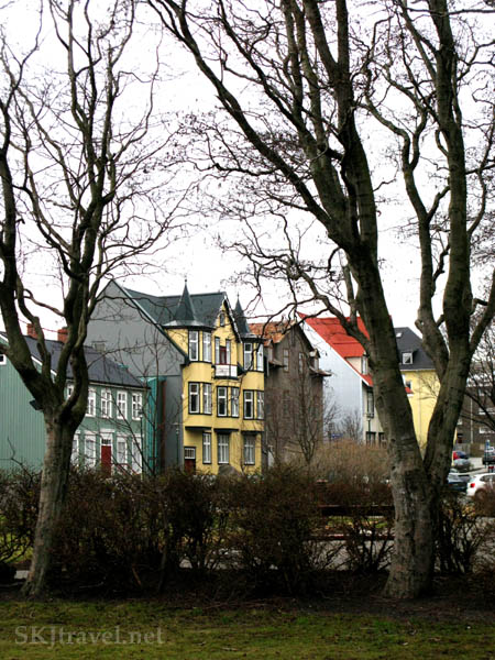 Colorful buildings in Reykjavik, Iceland. Photo by Shara Johnson